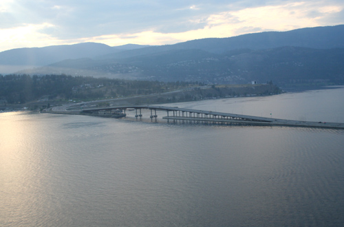 New Super Bridge in Kelowna, no more traffic jams!